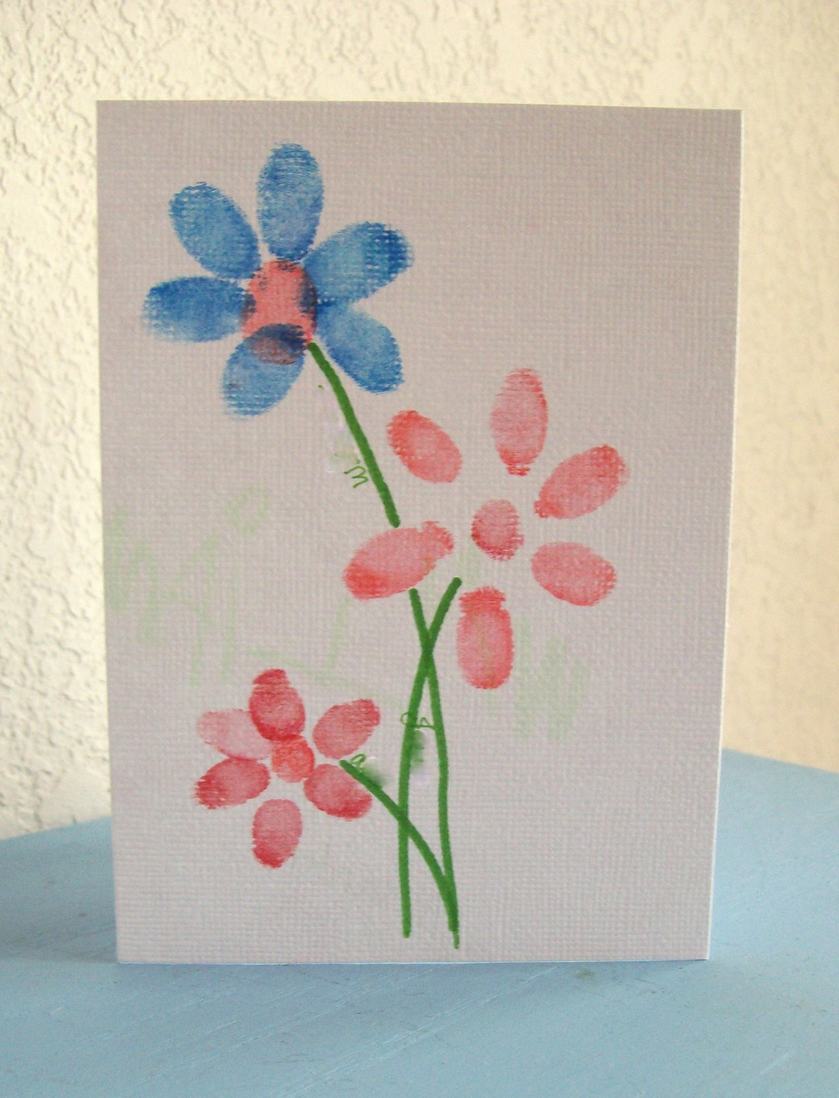 Fingerprint Crafts For Preschoolers