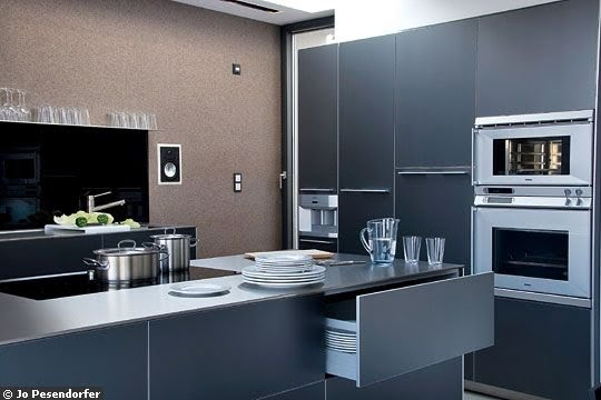 Decorando la francesa boas ideias para uma cozinha for Couleur moderne pour cuisine