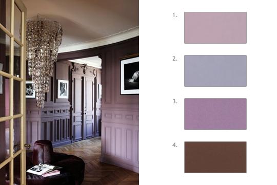 Decorando francesa 30 decors e 120 cores for Peinture chambre a coucher mauve