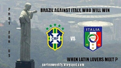 Italy Meets Brazil Today In London