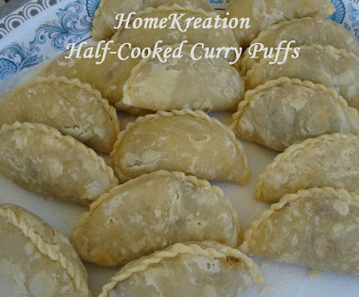 Curry Puffs (Karicpap)- How to make in 3 simple steps