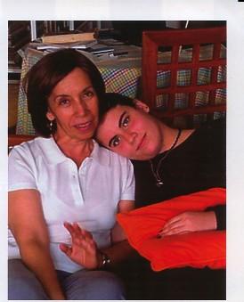 Laura y su hija Julia   2005