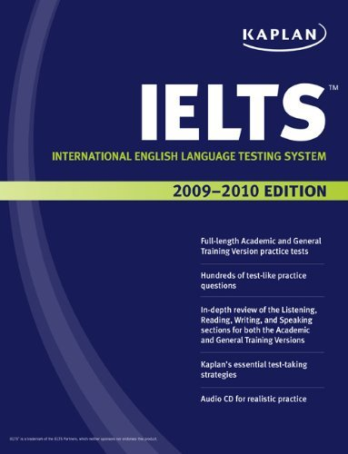 Kaplan IELTS 2009-2010 Edition