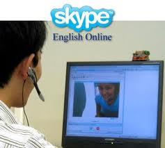 learn english by skype
