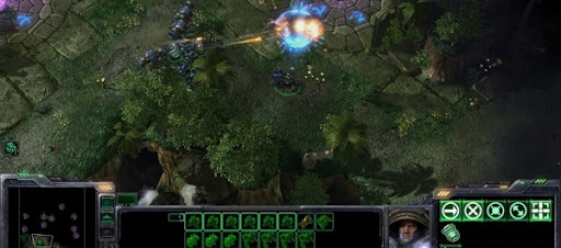 StarCraft II Wings of Liberty gameplay