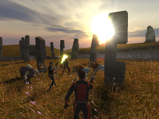 Star Wars Knights of the Old Republic mmo