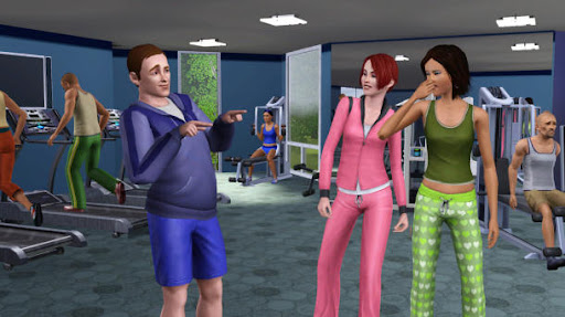 The Sim 3 downloads