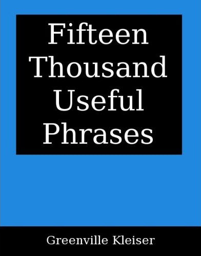 Fifteen Thousand Useful Phrases pdf