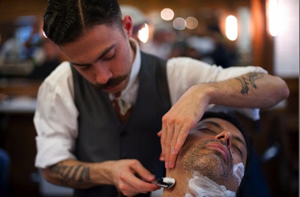 The Style Buff // by Gianni Fontana ? Old School Barber Shop