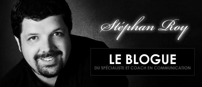 Le blogue du spécialiste et coach en communication