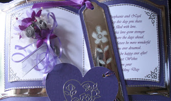 Lilac&Silver wedding bookatrix