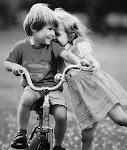cuando estoy contigo , no existen los minutos ni las horas.