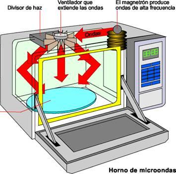 Mantenimiento del horno microondas limpieza del interior - Limpieza de horno ...
