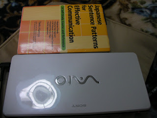 P91HS Vaio scaled with a book
