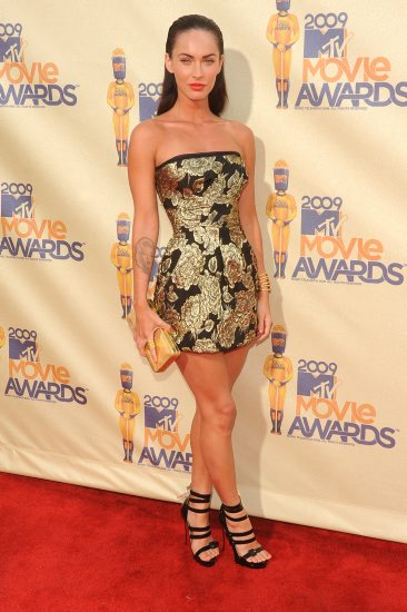 Megan Fox Tattoo Dress