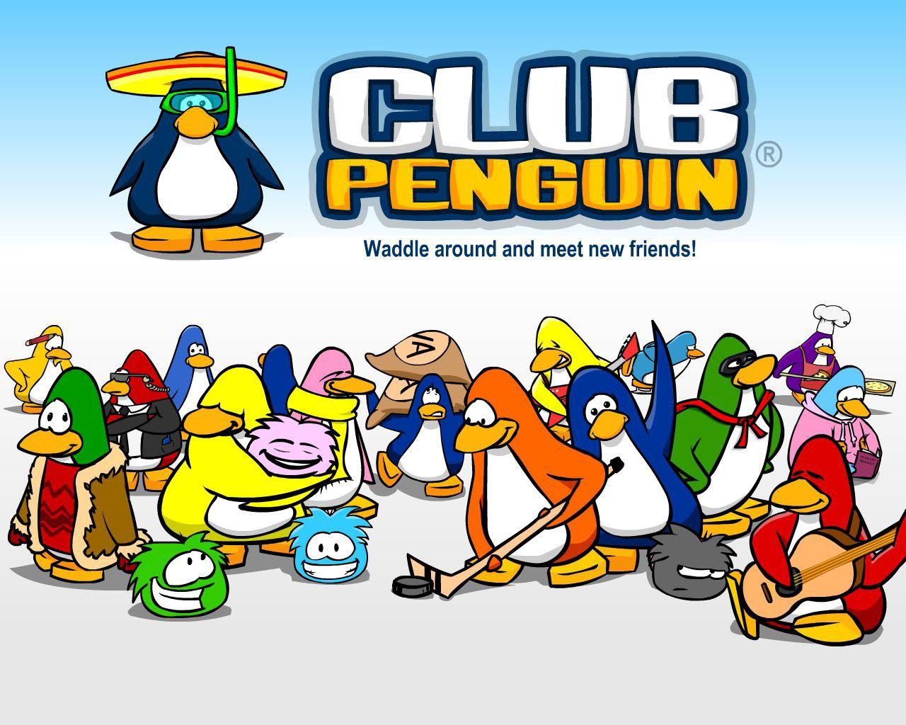 Soloo chikkass ...: Club Penguin Intro