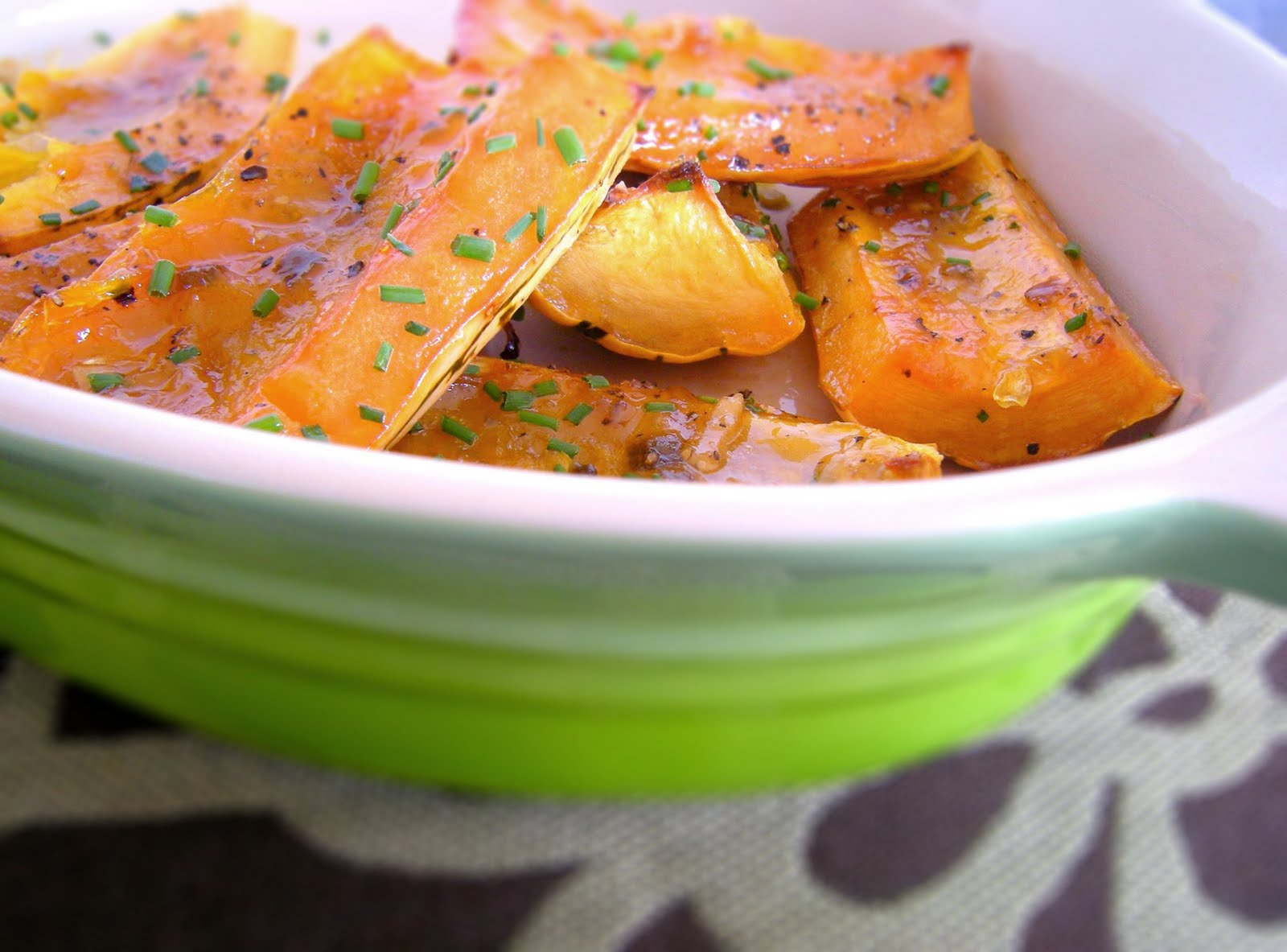 Crafty Lass: Roasted Squash with Pepper Jelly Glaze