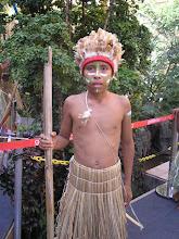 Índio da aldeia Icatú SP.