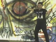 Arte na praça.