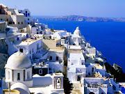 SantoriniGrécia (fira santorini cyclades islands greece)