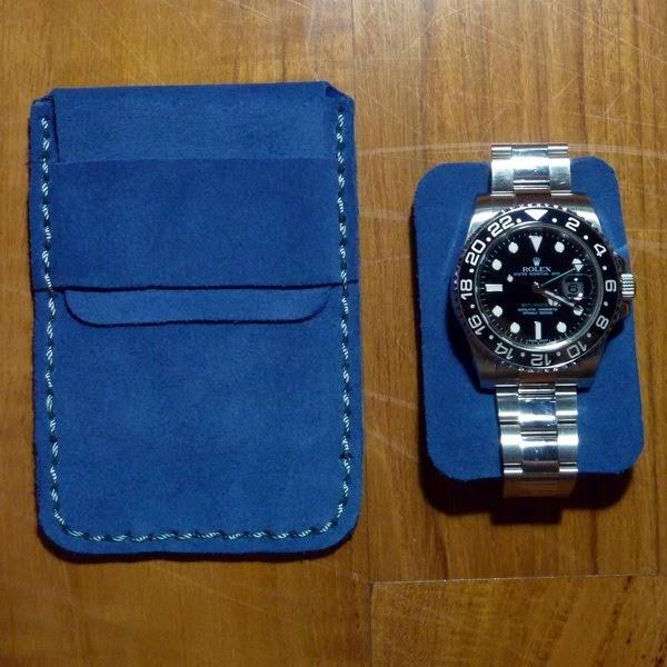 Buy Omega Seamaster Black Dial Orange Leather Strap Mens
