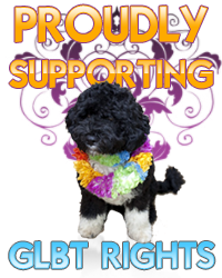 Proud Supporters of GLBT RIGHTS