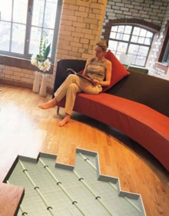 Floor Heating Systems Radiant Floor Heating Systems - Types of in floor heating systems