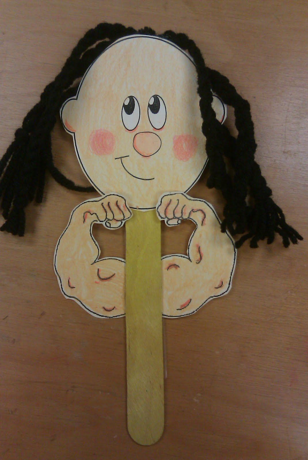 Hands on bible teacher samson the strong judge for Bible school crafts for toddlers