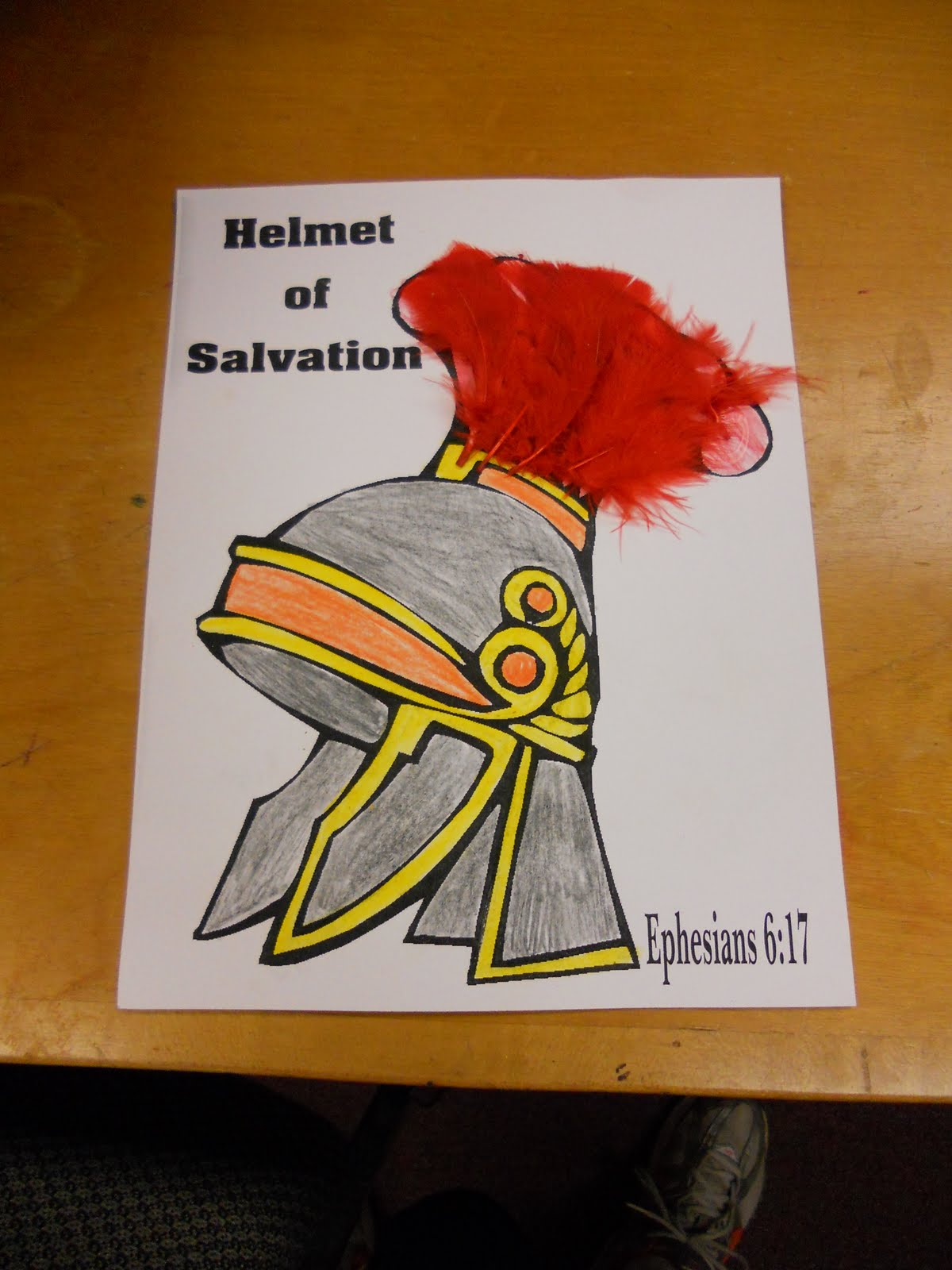 Hands On Bible Teacher Armor Of God Exploring Bible History New Testament Lessons 5 Helmet Of Salvation Coloring Page