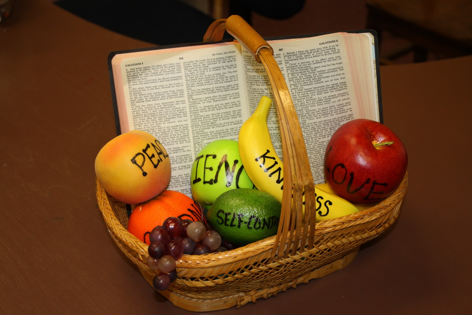 fruit of the spirit The 'gentleness' fruit of the spirit childrens lesson (galatians 6) is a brilliant session for children to learn what it means to be gentle like jesus.
