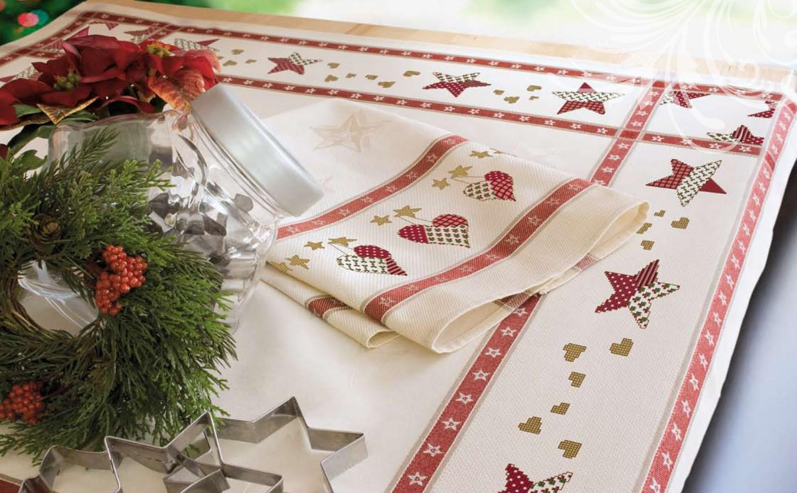 El blog de dmc nueva colecci n de manteles de navidad - Como hacer una manteleria ...