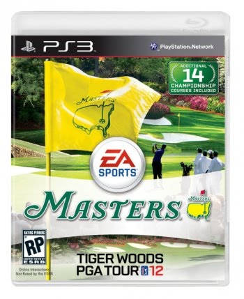 Tiger Woods 2012 The Masters
