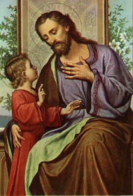 #3 -Chaîne de prières pour un problème d'emploi, de logement - Page 3 StJoseph+with+the+Child+Jesus
