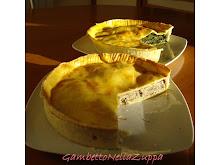 Torte rustiche broccoletti, salsiccia e kalamata, funghi, salsiccia e ricotta