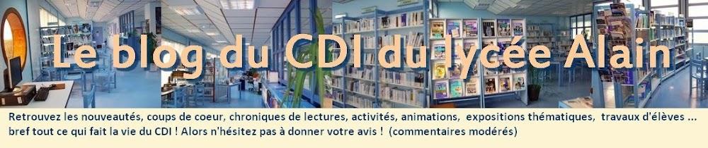 Le Blog du CDI du lycée Alain - Alençon