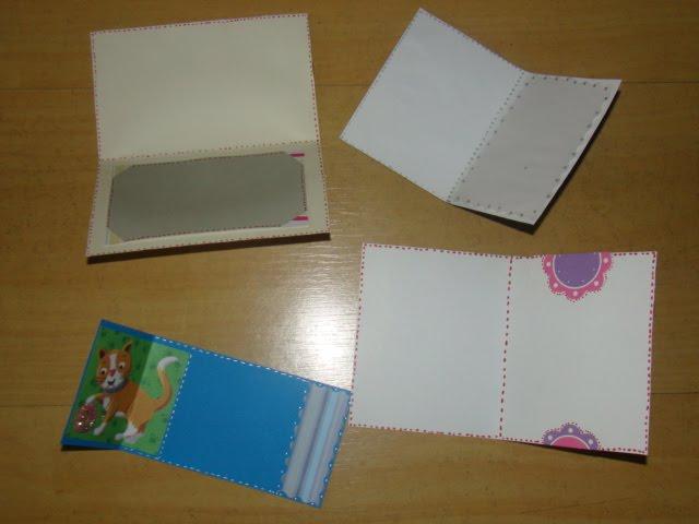 cartões ou convites