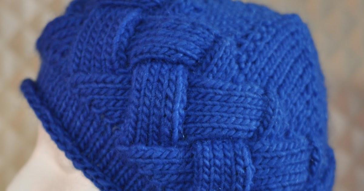 Knitting Pattern Entrelac Hat : Knitting By The Ocean: Ella - An Entrelac Hat