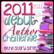 Debut Author Challenge 2011