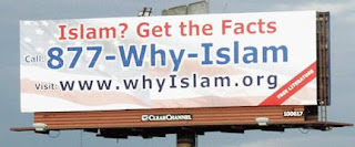Billboard promoting Islam