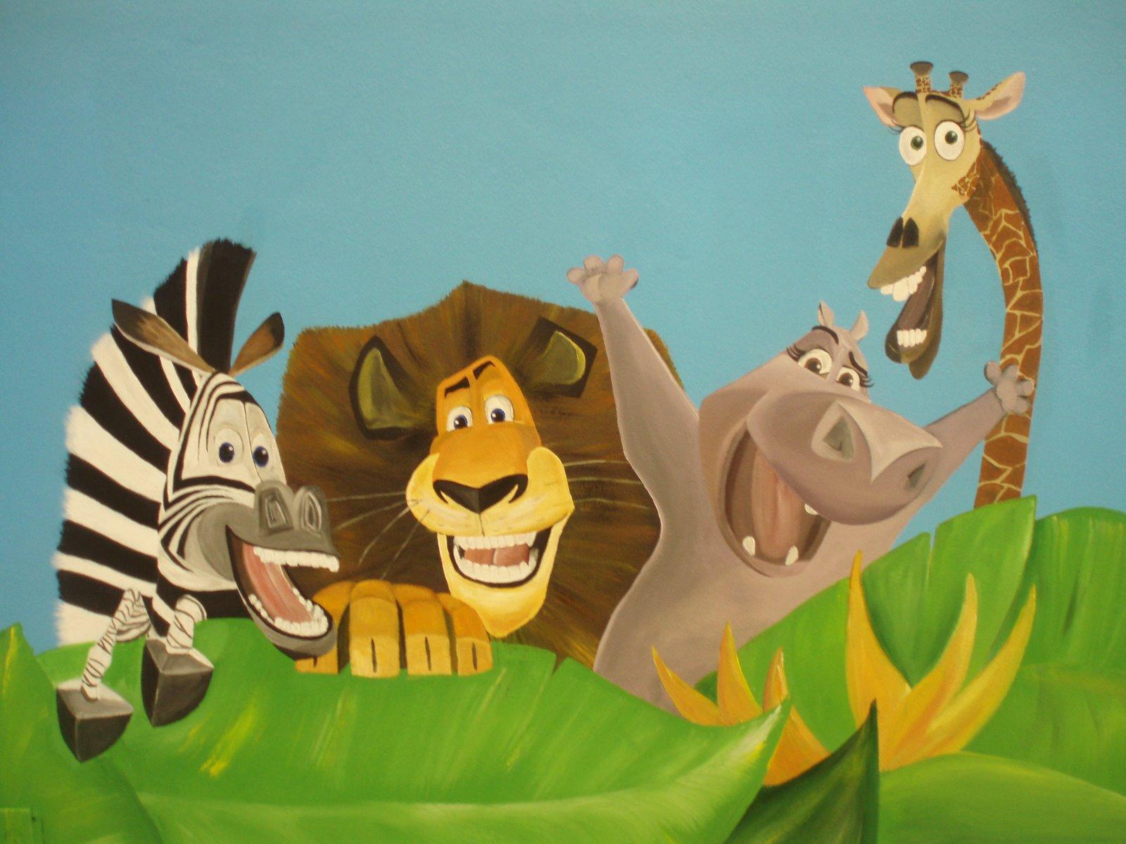 Fiestas Infantiles, Madagascar, Alex el leon, Marty la