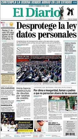 Tijuana noticias el diario de cd ju rez chih un for Noticias del espectaculo mexicano del dia de hoy