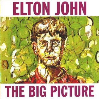 CD Elton John Big Picture - 1997