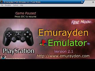 PSX+Emulator Emulador Emurayden PSX Emulador Vs. 2.2 para PlayStation 1