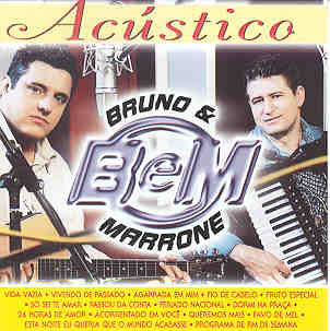 acustico+bruno+e+marrone CD Bruno e Marrone   Acústico (2000)