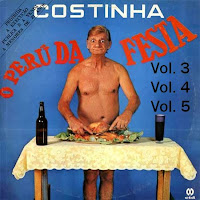 CD Costinha - Piadas O Peru da Festa Vol. 3, Vol. 4 e Vol. 5