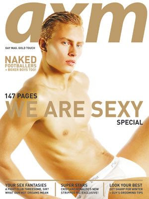 AXM magazine cover Dec 2007