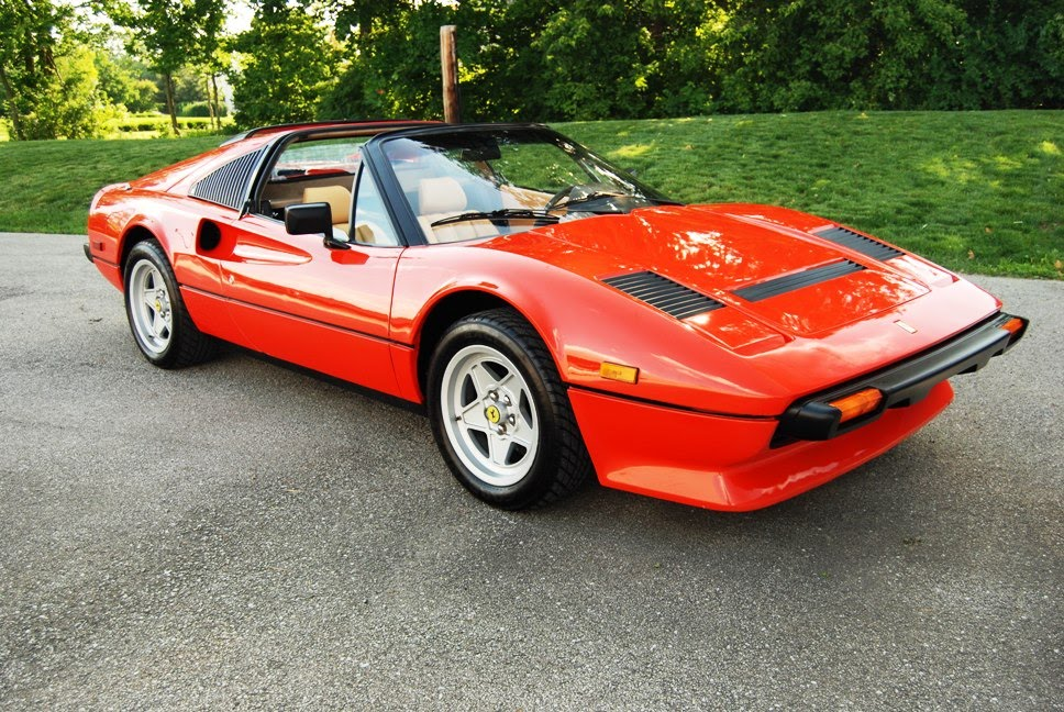 magnum pi ferrari 308 gts. Black Bedroom Furniture Sets. Home Design Ideas