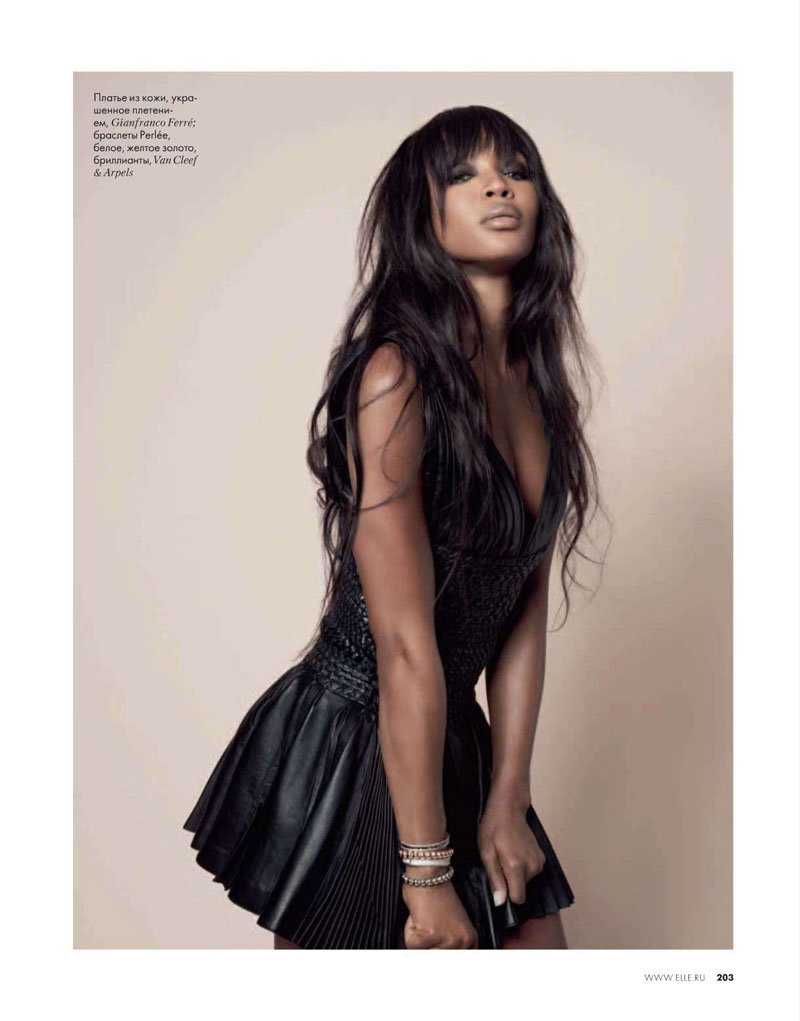 naomi campbell in the closet
