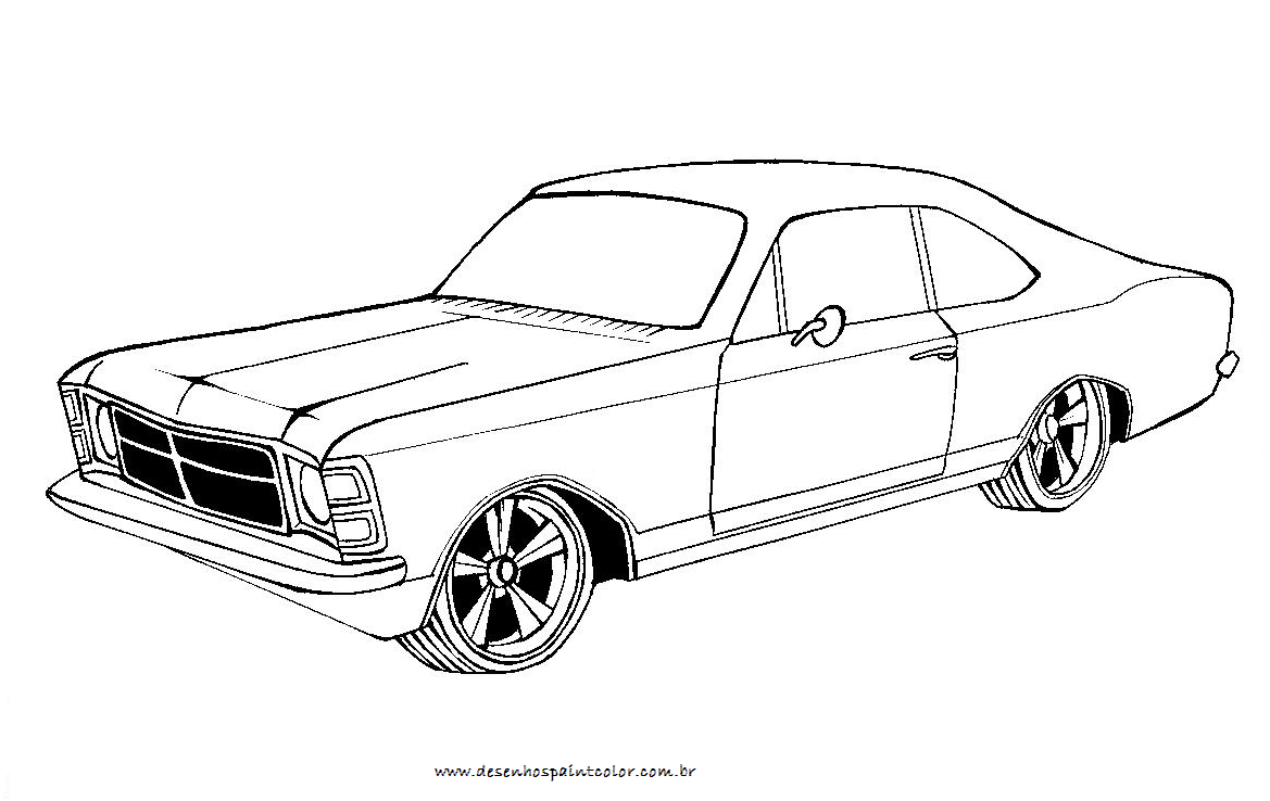 Tuner Car Coloring Pages : Free coloring pages of autos de lujo