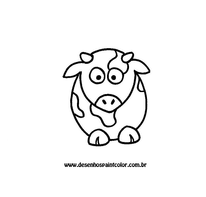 desenho de vaca para colorir   gr u00c1tis desenhos para